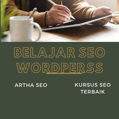 Kursus seo terbaik - belajar seo wordpress